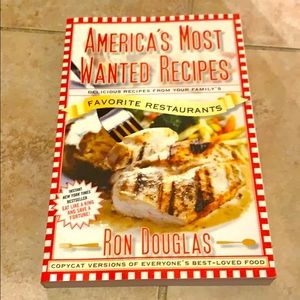 NEW 'America's Most Wanted Recipes' by Ron Douglas